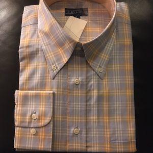 McLaughlin NWT button down front shirt
